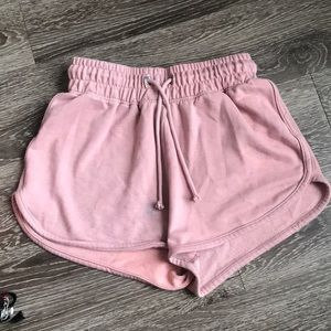 Missguided pink shorts